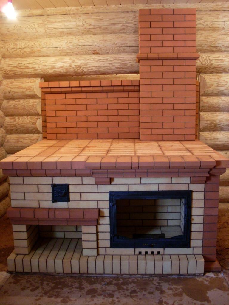 подовая печь с лежанкой